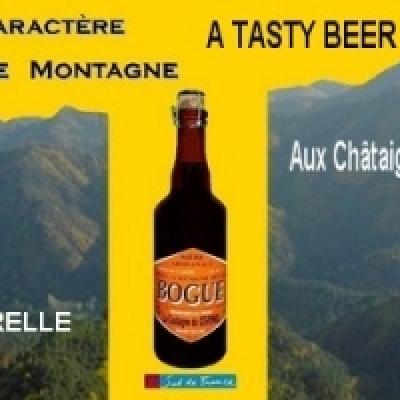 La Bogue, bière de La Castagne du Cévenol à coté du gite Castagnère en Cévennes