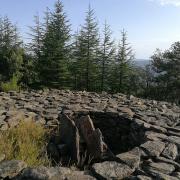 Castagnere en Cévennes Tumulus de l'Elzière