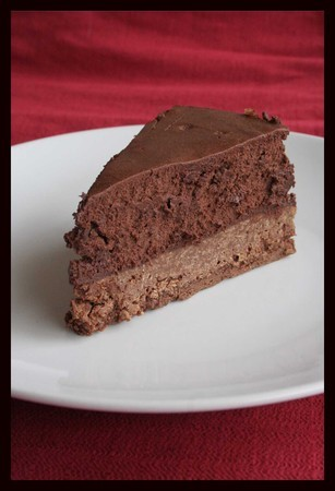 Gateau de la castagnere au chocolat