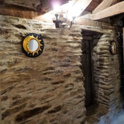 Couloir du gite Castagnère 4* en Cévennes