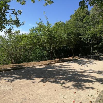 Terrain de boules du gite Castagnère 4* en Cévennes