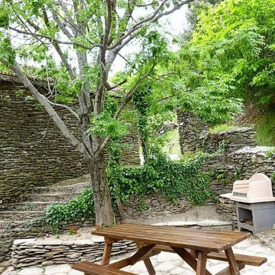 Terrasse du gite Castagnère 4* en Cévennes