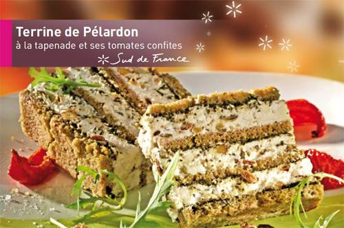 Terrine de pelardon