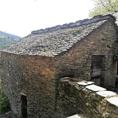 Clède mas Castagnère en Cévennes vue des 2 étages