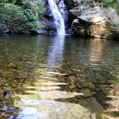 Gite Castagnère 4* en Cévennes riviere Hivernette