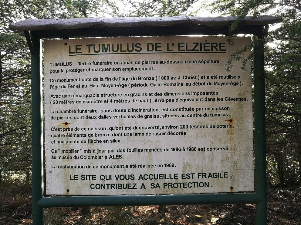 Texte tumulus